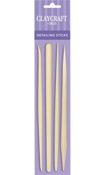 Detailing Sticks (Set of 4) - CLAYCRAFT™ by DECO®