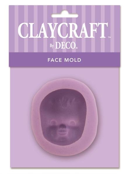 Face #5 Infant Baby Mold - CLAYCRAFT™ by DECO®
