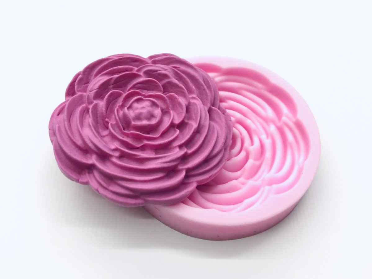 Rose Flower Mold