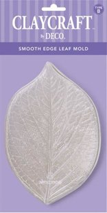 Type B. Smooth Edge Leaf Mold - CLAYCRAFT™ by DECO®