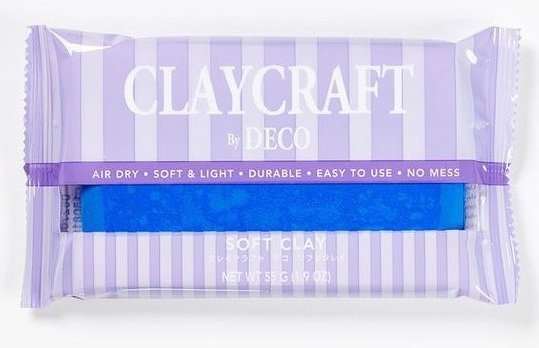 Blue - CLAYCRAFT™ by DECO® Soft Clay