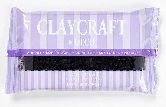 Black - CLAYCRAFT™ by DECO® Soft Clay