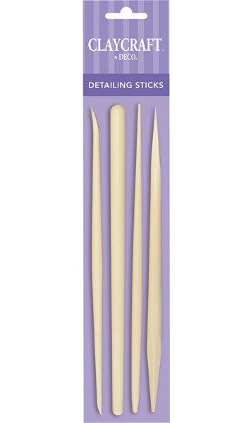 Detailing Sticks (Set of 4) - CLAYCRAFT™ by DECO®