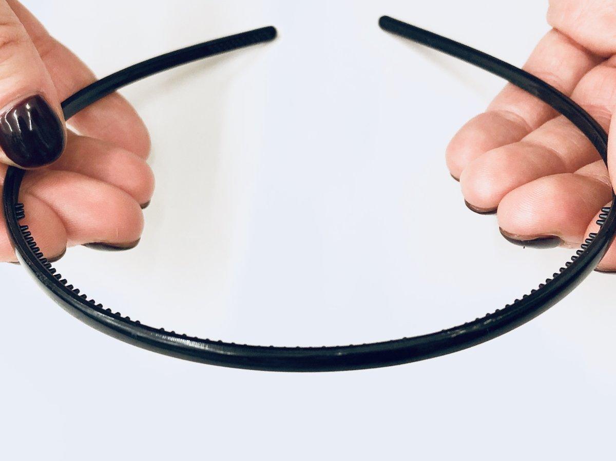 Black Plain Headband #2