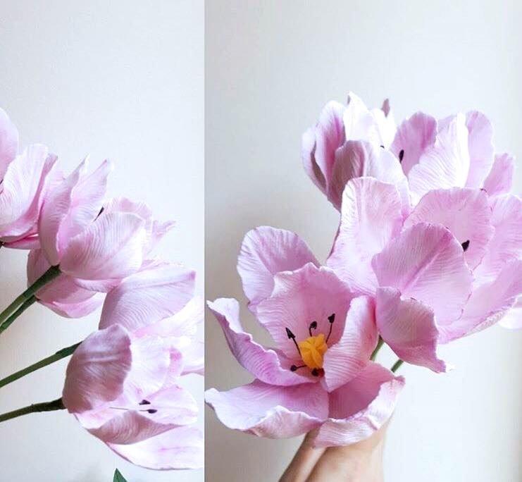 Type I. Standard Tulip Petal Mold - CLAYCRAFT™ by DECO®