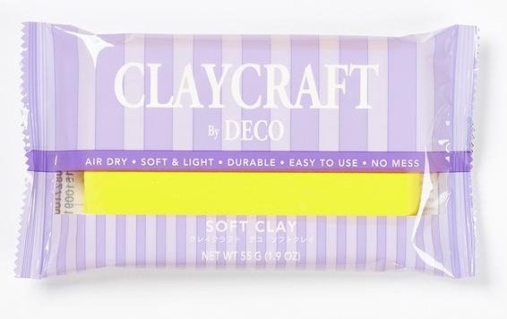 Yellow - CLAYCRAFT™ by DECO® Soft Clay