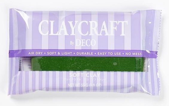 Глина CLAYCRAFT by DECO© (цвет - зеленый)