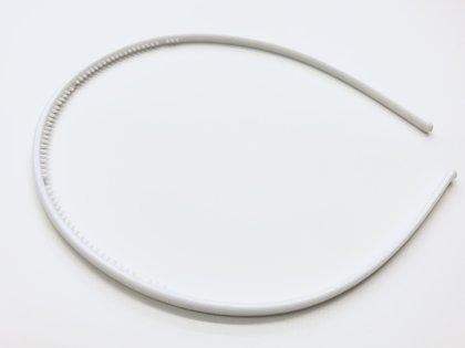White Plain Headband #2
