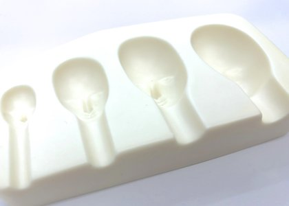 Молд для лепки лица (4 оттиска)